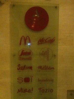 Always a McDonalds...smh