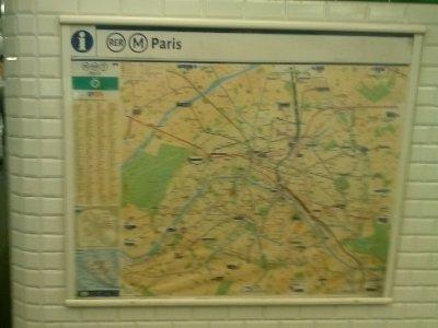 Train system in Paris