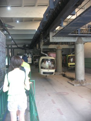Sky lift to the Great Wall