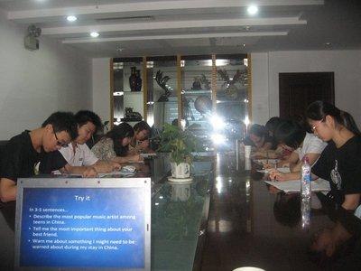 students in Nanjing