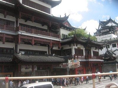 Yuyuan Garden: downtown Shanghai