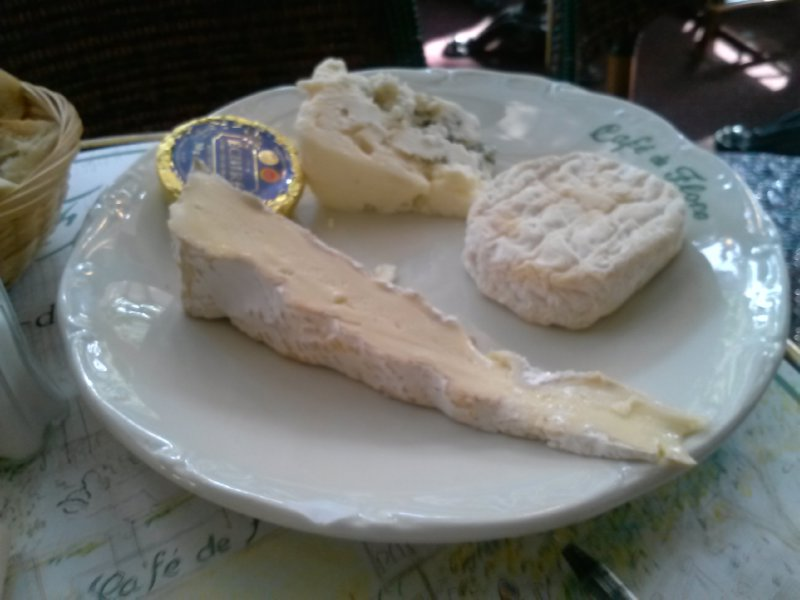 Had to try some Parisian cheeses