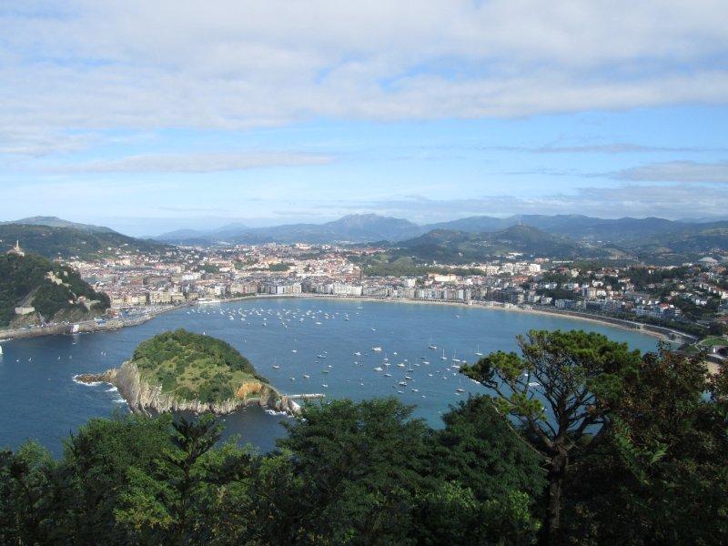 San Sebastián from arriba