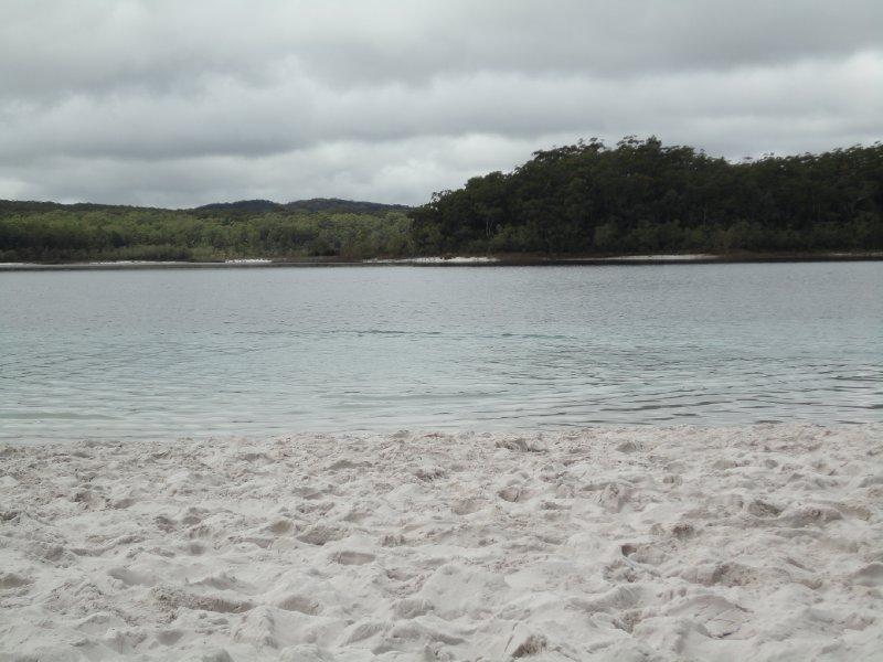 Wit strand Lake McKenzie