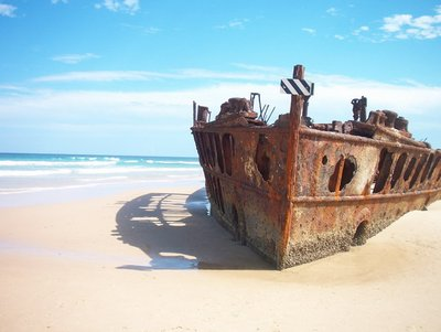 Fraser Island Shipwreck