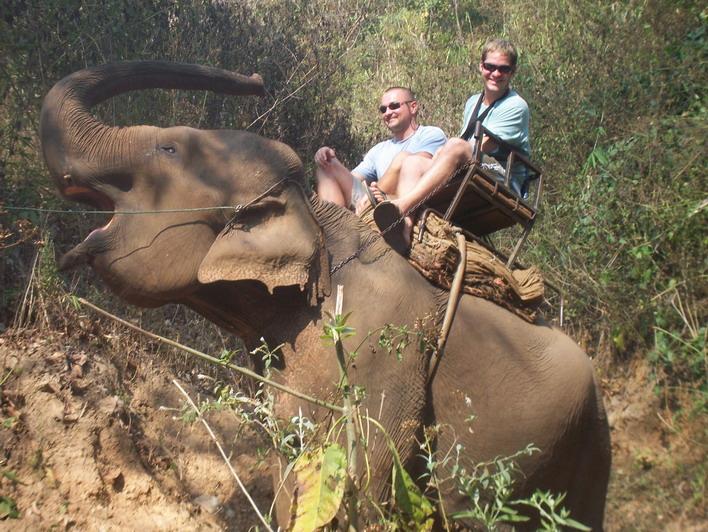 Elephant Trekking Chiang Mai