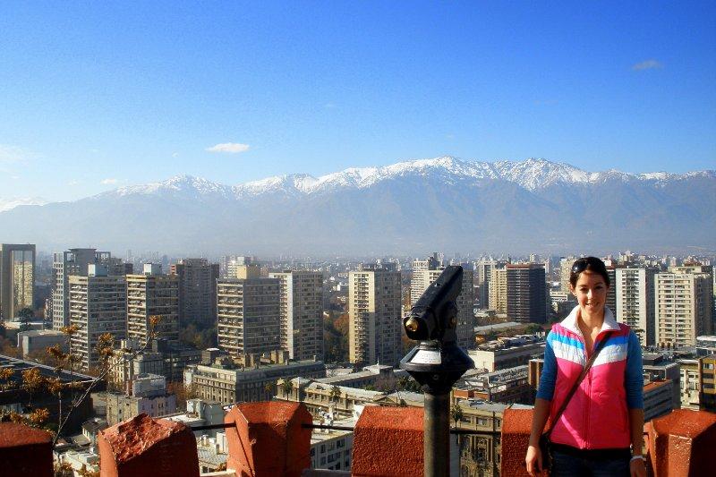 View from Castillo Hidalgo