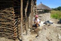 Building a Mud Hut