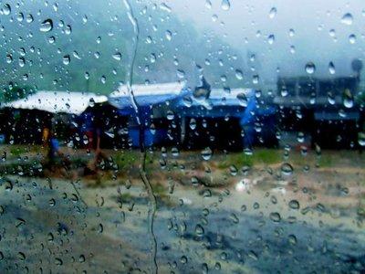 Rainy day in Vietnam