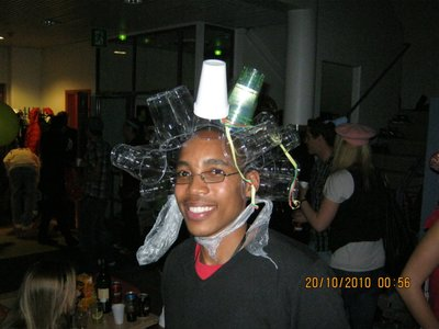 More cups on my head!