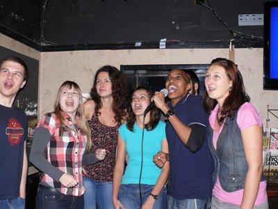Karaoke time!!