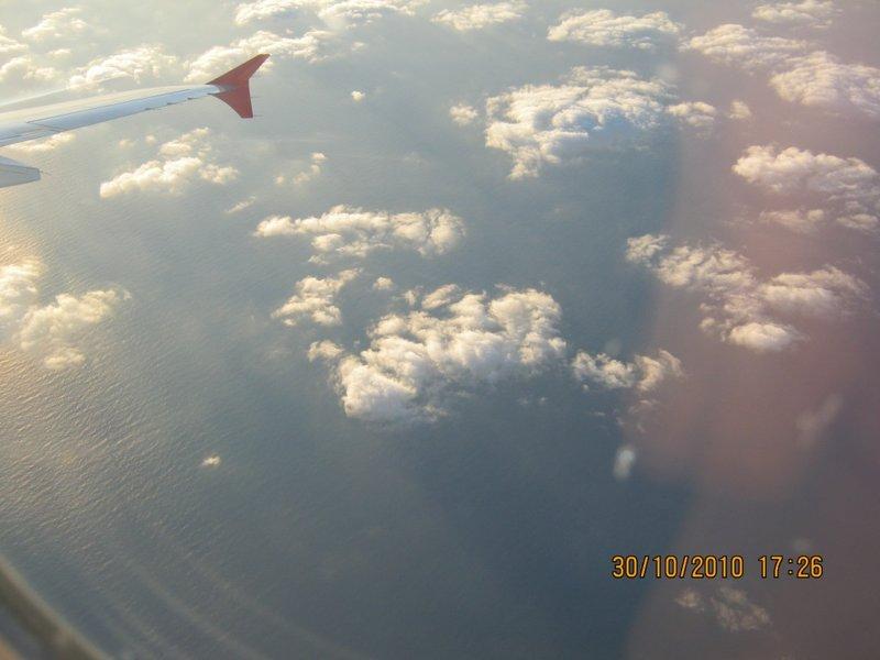 Sunshine as we get into Turkey