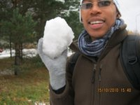 YES! I am holding snow!!