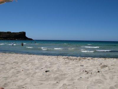 Beach on Carlo Forte
