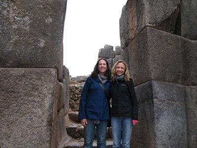Samantha and me at Inka Ruins