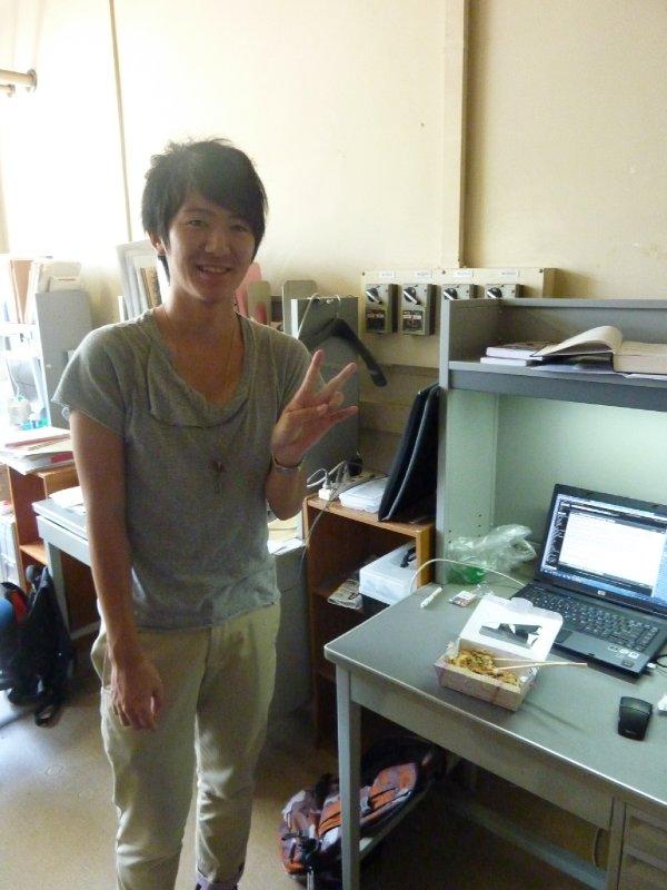 Murayama, fellow master student