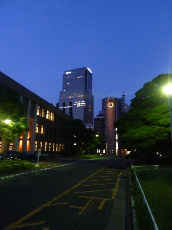 Tohoku University at Night