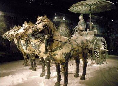 Terracotta Warriors and Horses Museum's bronze chariots