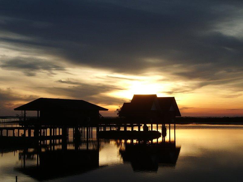 Sunrise @ Thale Noi Waterbird Park (A Ramsar Site), Phattalung