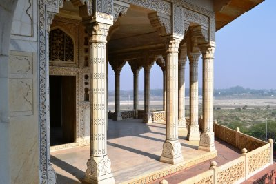 Shah Jahan was imprisoned in this room by his own son