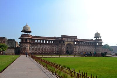 The Palace within the immense Agra Fort