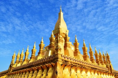 The wonderful Golden Stupa