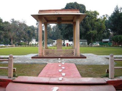 Gandhi's final footsteps...