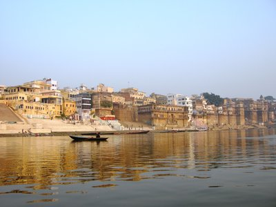 The Ghats on the Ganges