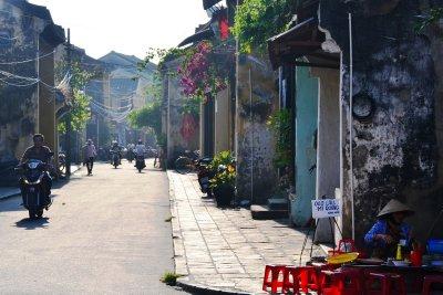 A pretty street in Hoi An
