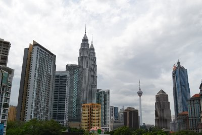 The grey KL skyline