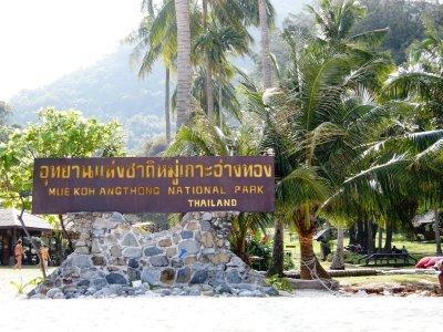 The Angthong National Marine Park
