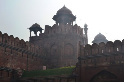 The Red Fort in New Delhi