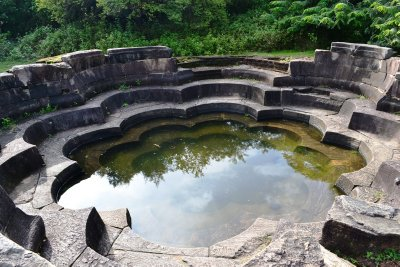 The Lotus Bath - Polonnaruwa