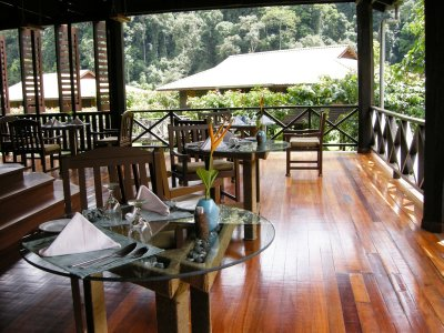 The beautiful Borneo Rainforest Lodge in Danum Valley