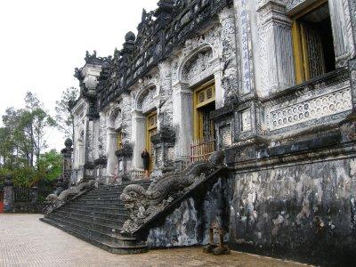Emperor Khai Dinh's sumptuous tomb