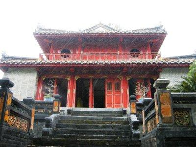 Emperor Minh Mang's tomb