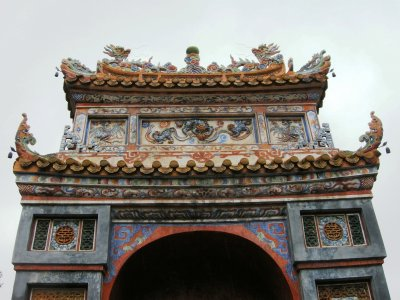 Emperor Tu Duc's tomb and temple grounds