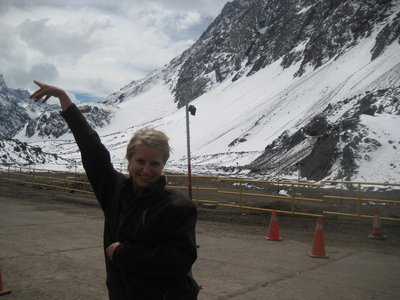 på grensa i Chile