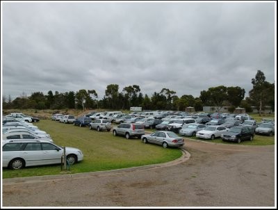 100 Cars Parked