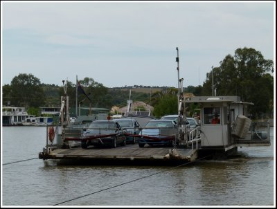 One of the Mannum Ferries
