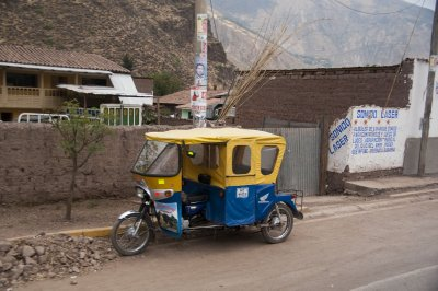 Peruvian style TukTuk