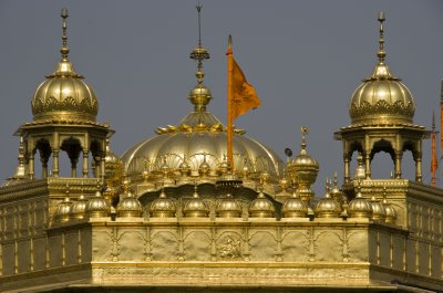 The gold in Golden Temple