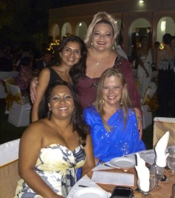 Lynn, Remy, Vrinda and me