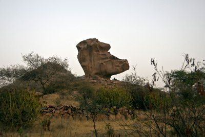 Fantastic rock formations, Jay Leno anyone?