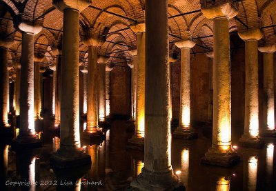 The atmospheric Basilica Cistern