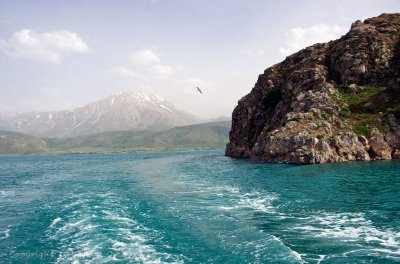 On Lake Van at Akdamar Island