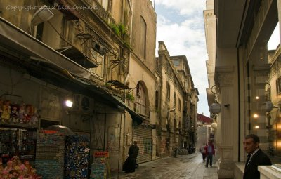 One of the many atmospheric side-streets of Istiklal Caddesi