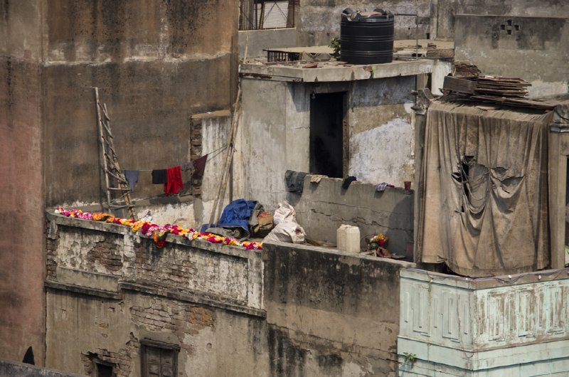 Old Delhi rooftop, from Spice Market building roof.