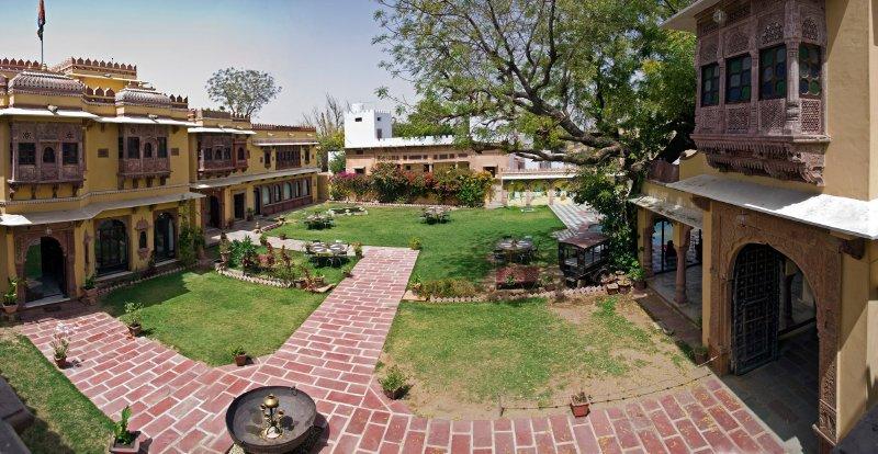 Ravla Bhenswara centre courtyard