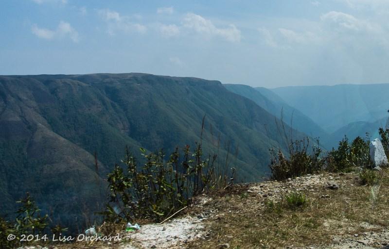 Taste of our landscape as we enter the hills.